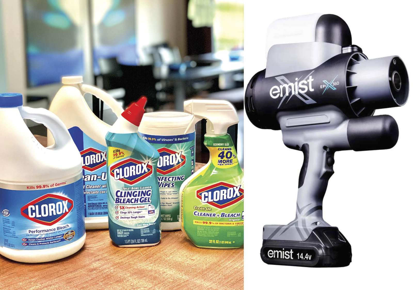 We've always taken a proactive approach by thoroughly cleaning and disinfecting our homes prior to guest arrivals.  We're now adding EMist electrostatic sprayers to apply EPA-approved disinfectants before and after our cleaners prepare houses for arrival