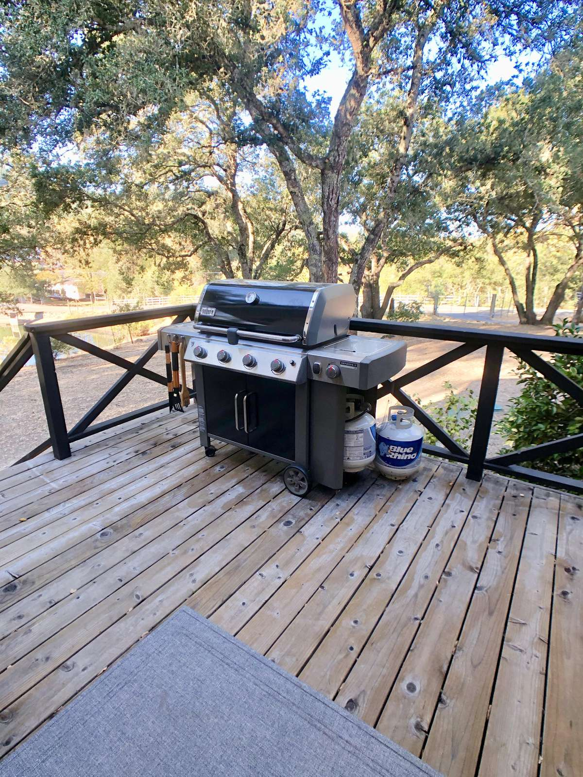 Weber 4-Burner Gas Grill (w/ Propane Provided)