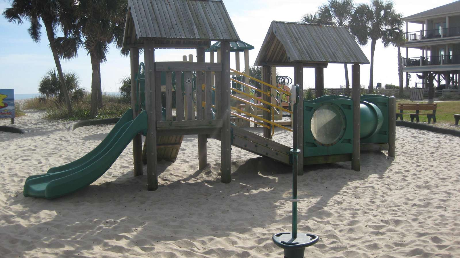 One of two playgrounds