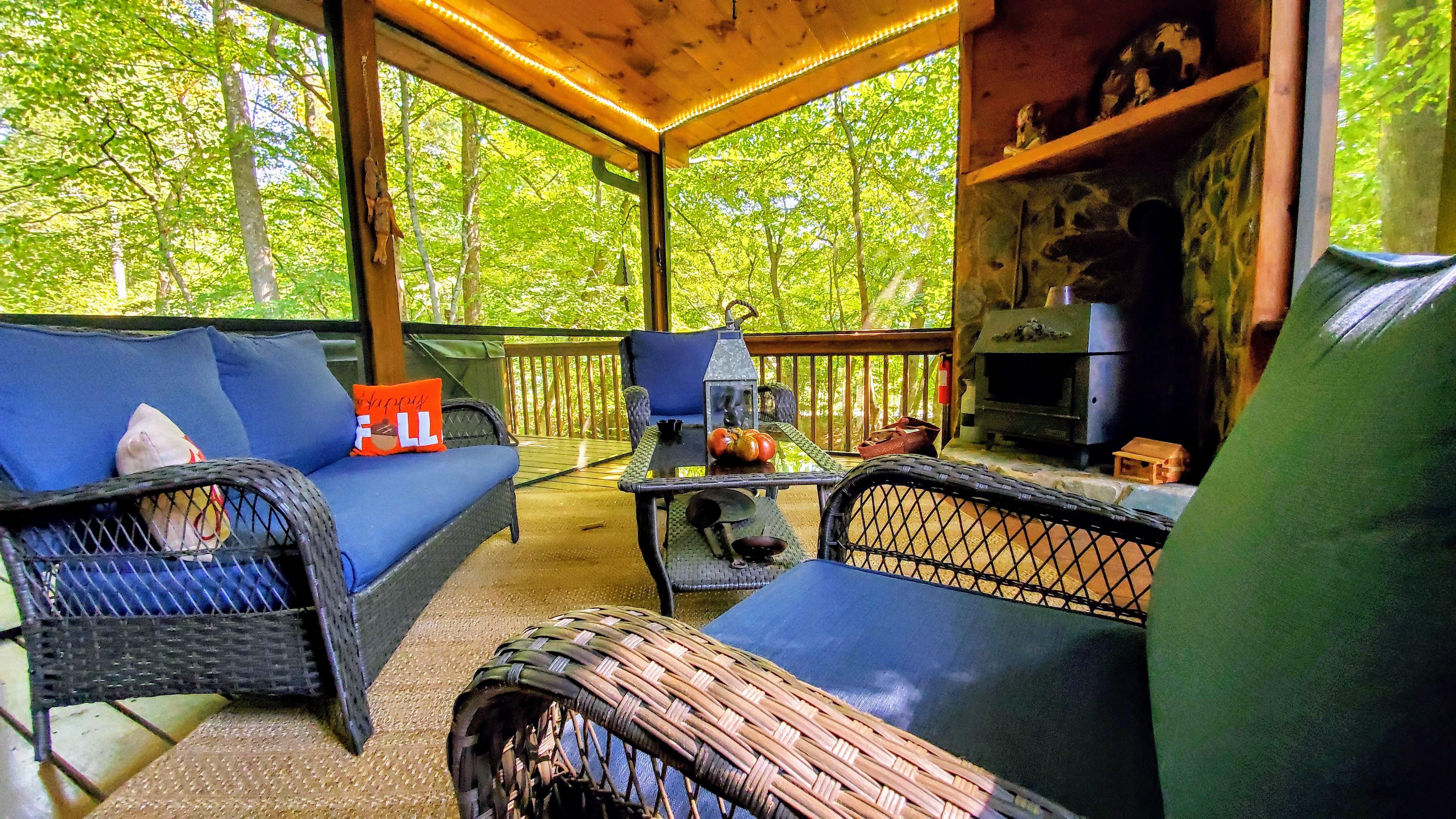 Bach S Creekside Retreat Celebrate Blue Ridge Cabin Rentals