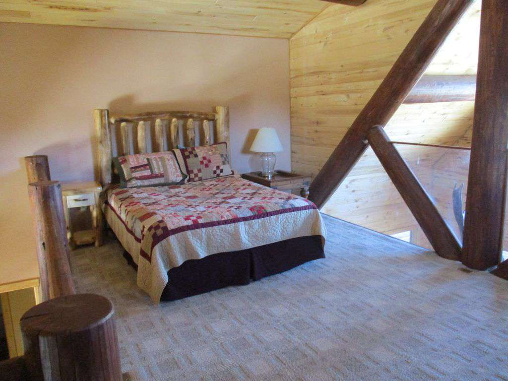 Bed in the loft