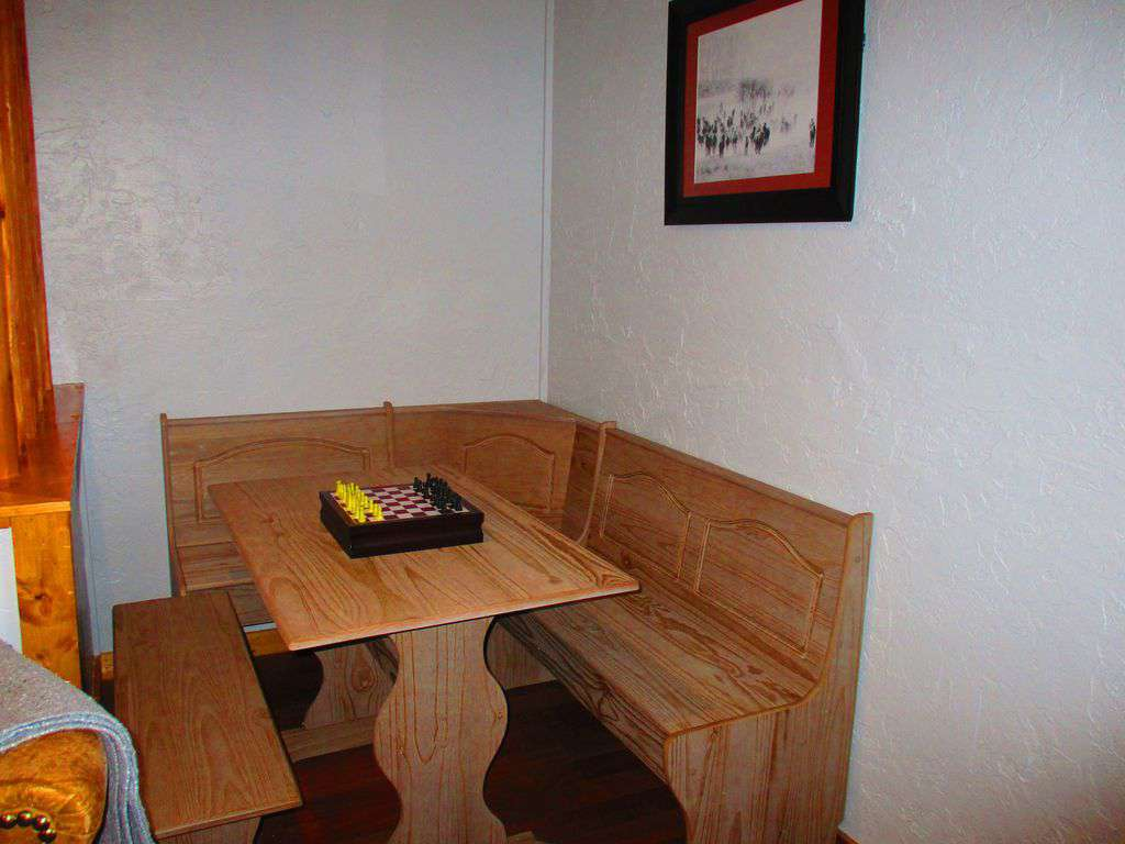 Eating and game table upstairs