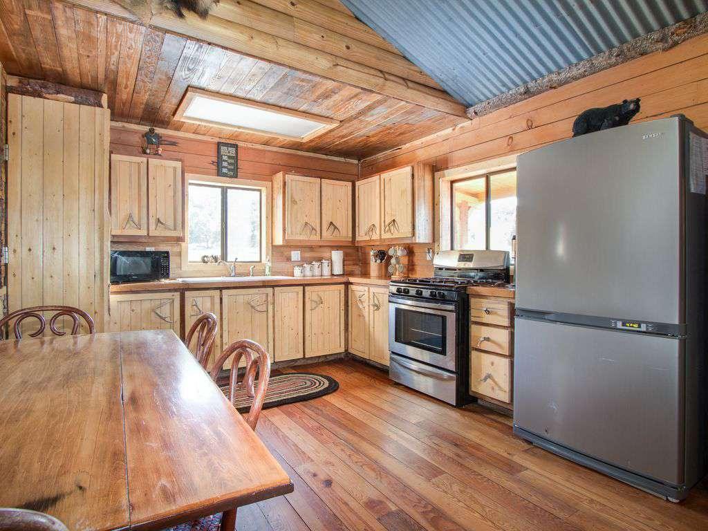 Bunk house kitchen.
