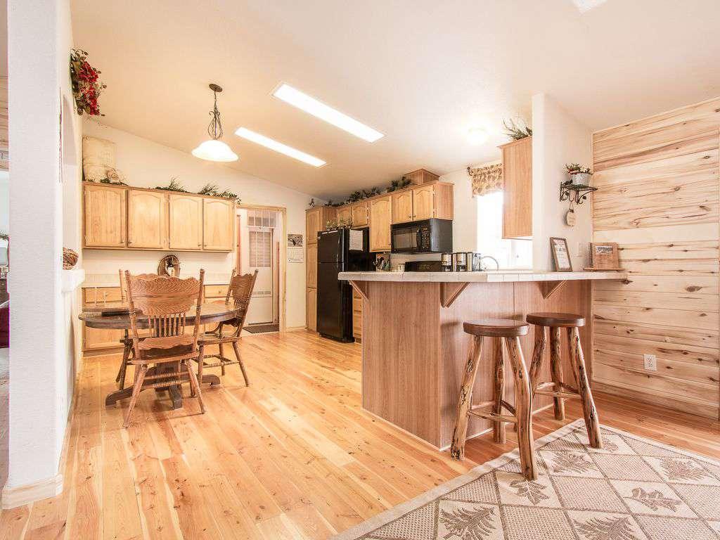 Main house kitchen and bar