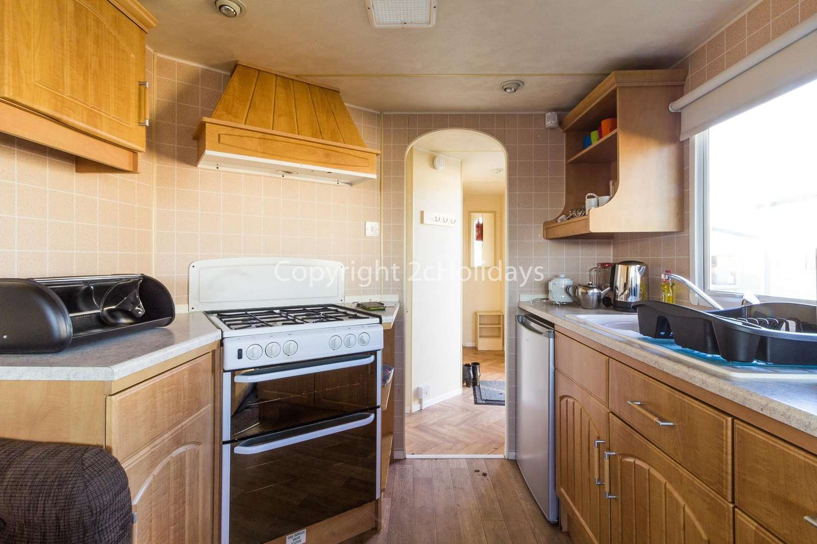 Caravan for hire in Scratby, Norfolk