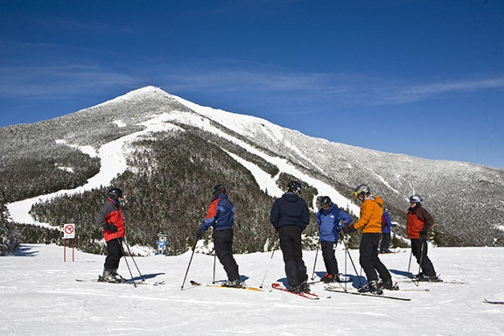Skiing at Whiteface is easy, just 2 miles from the home