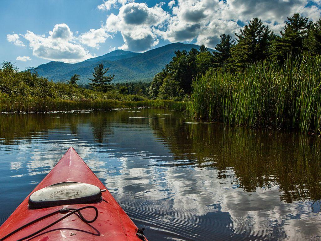 Kayaking on the AuSable