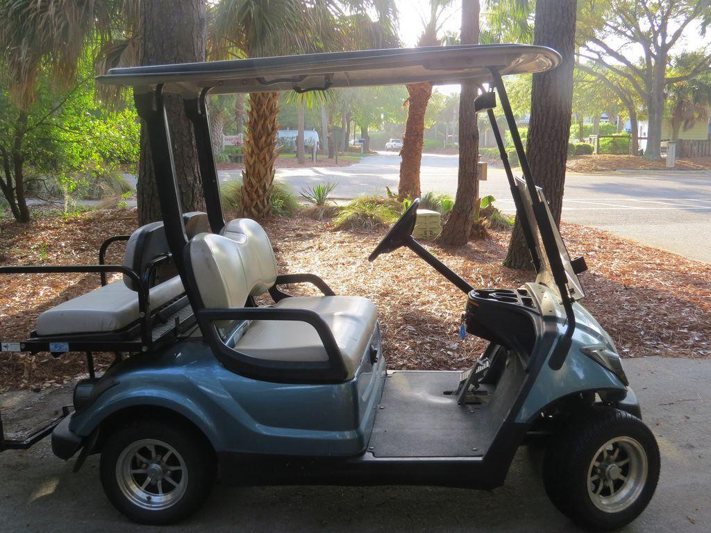 free golf cart with each rental