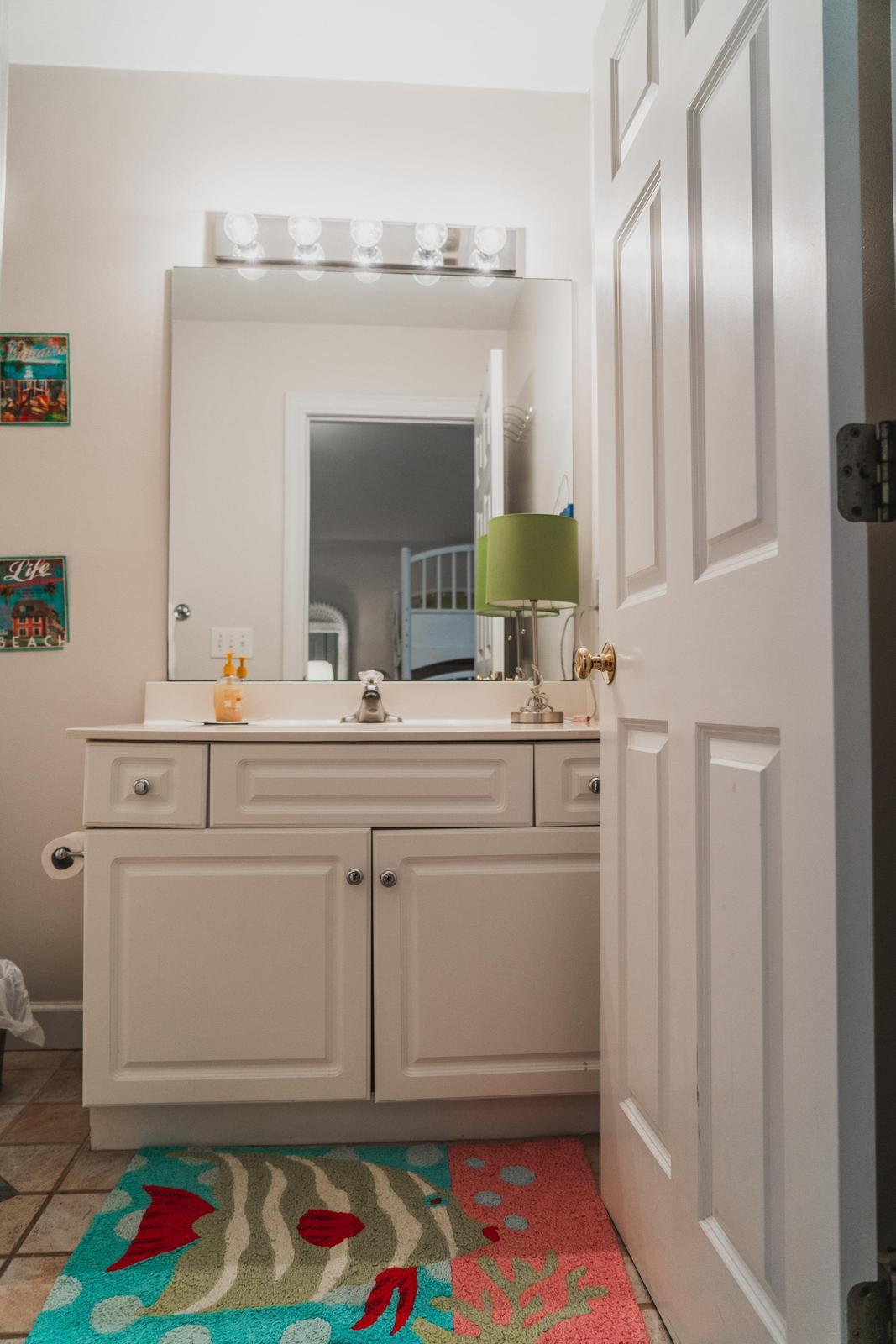 bunkroom bath