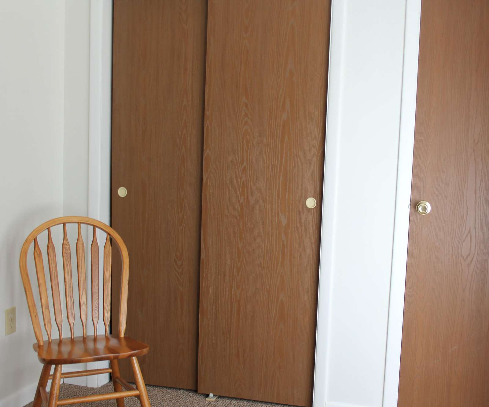 Closets in Master Bedroom