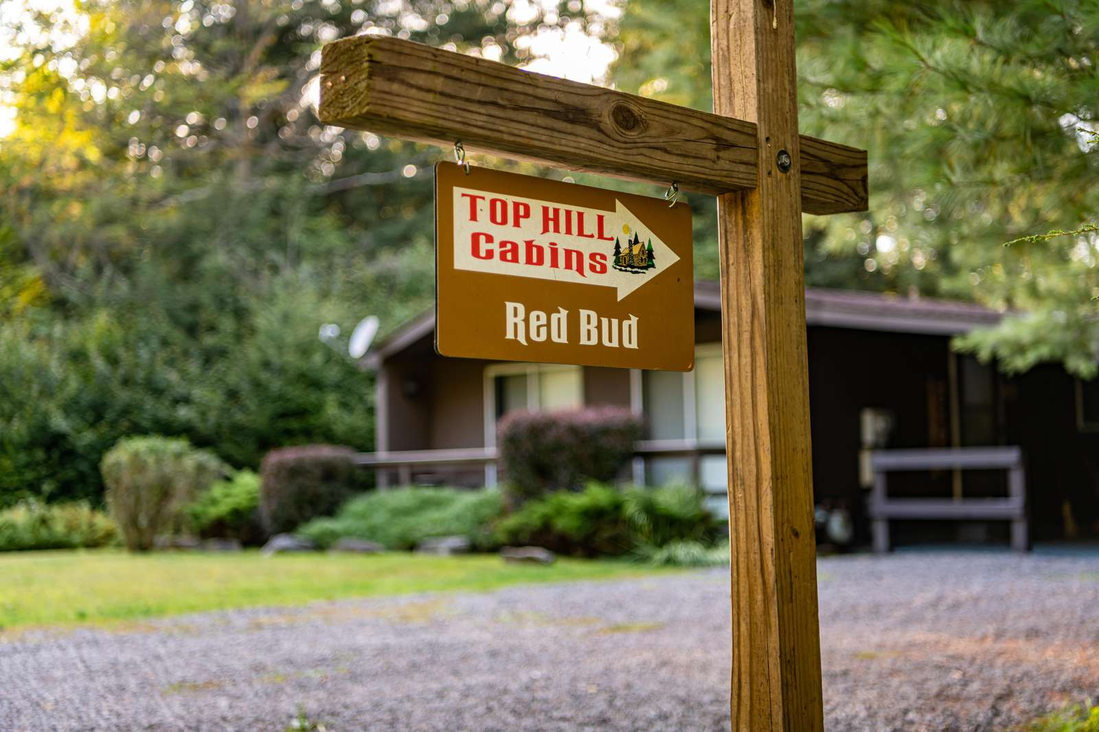 Red Bud Cabin Sign
