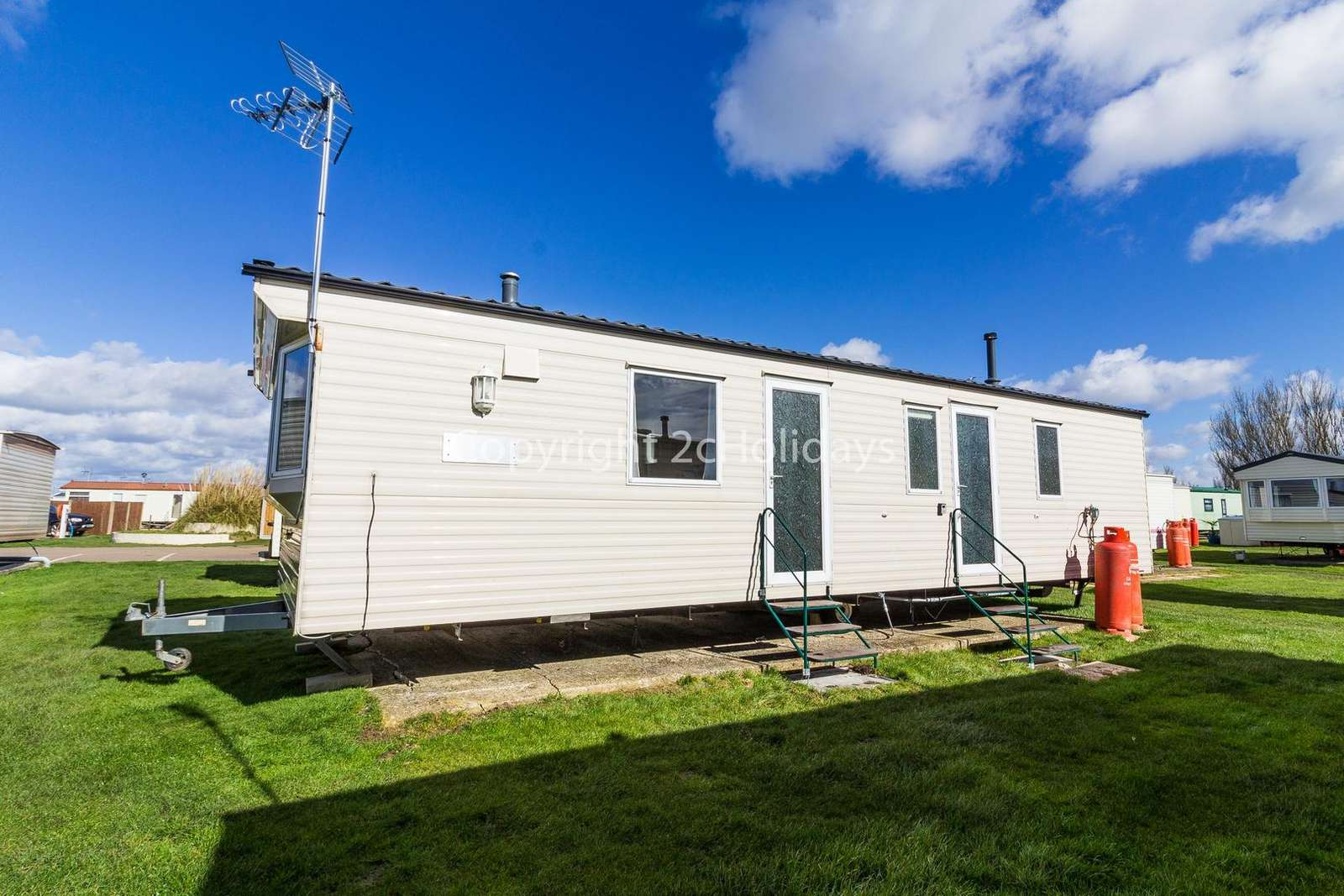 On a brilliant family park with great amenities!