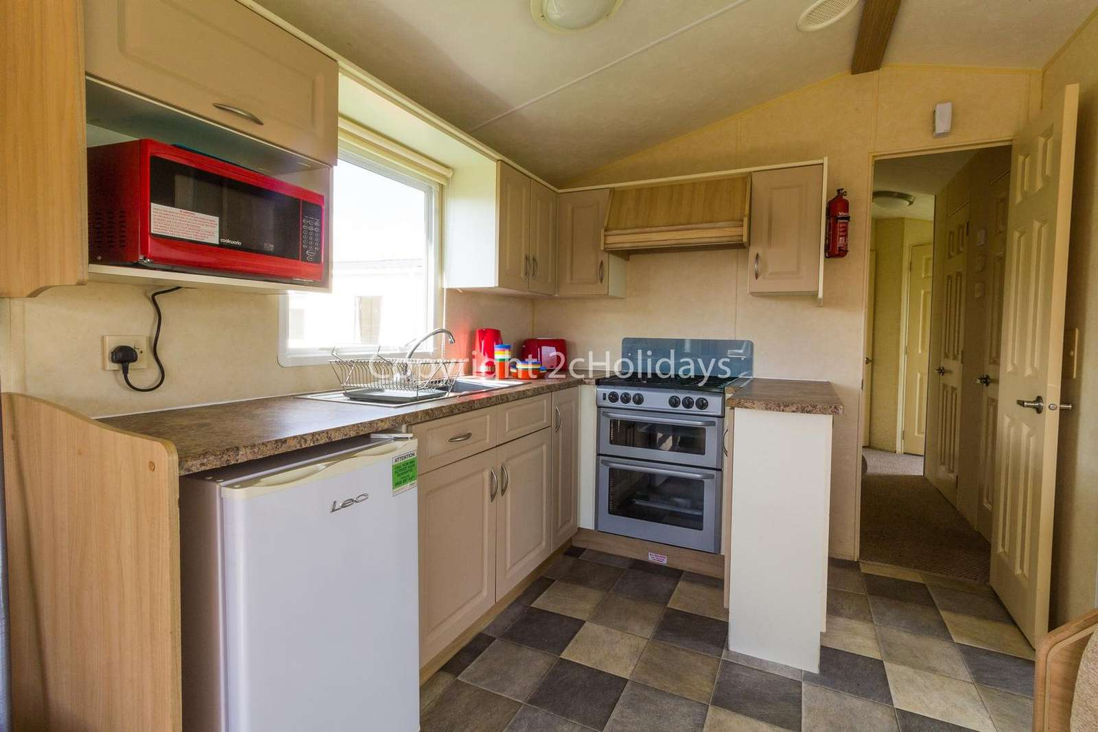 fully equipped kitchen, ideal for self-catering breaks