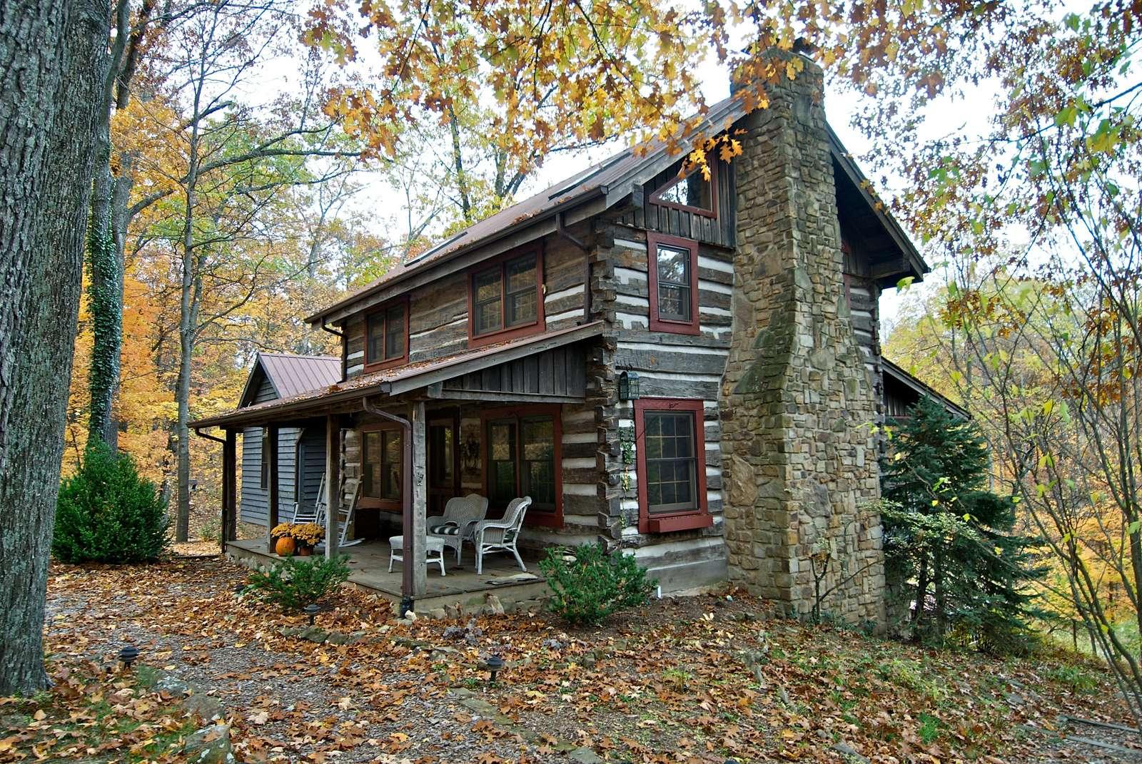 Wildflower Ridge Log Cabin Brown County Log Cabins