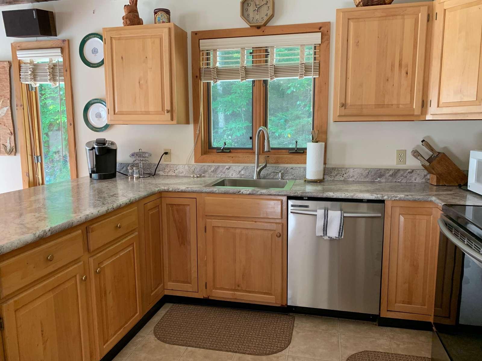 Beautiful new kitchen counters