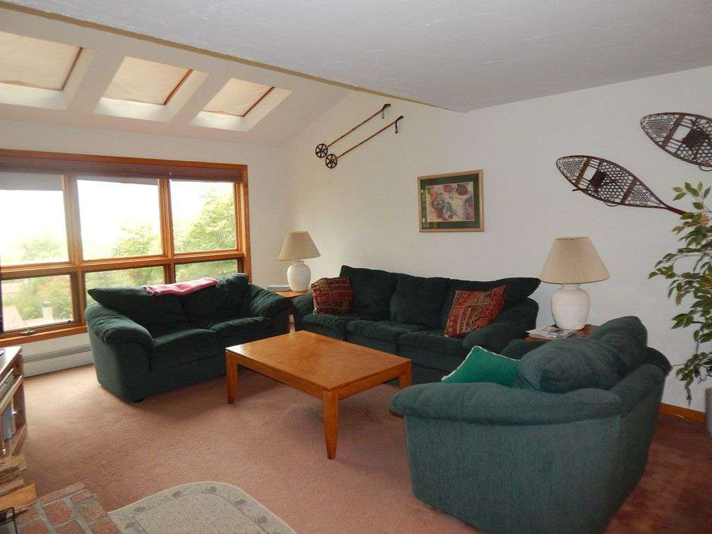 Cozy furniture and incredible views of Mount Snow's slopes!