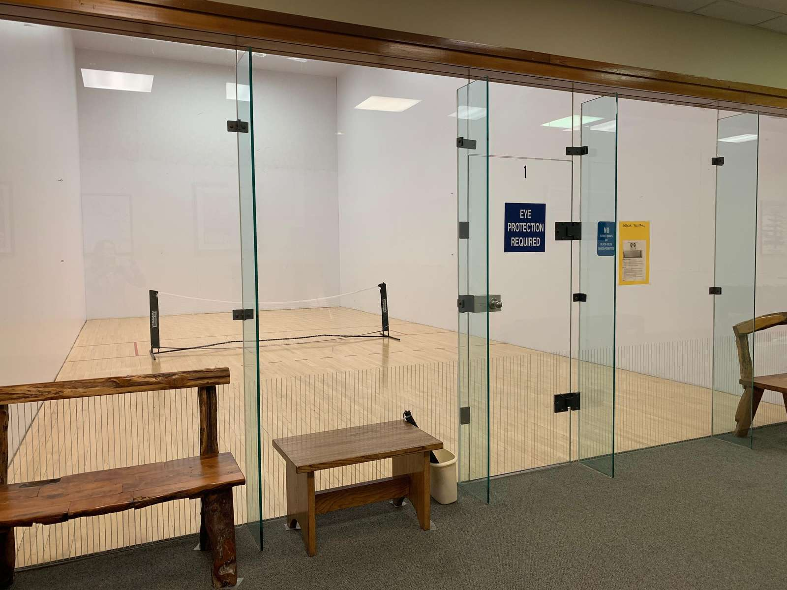 Pickle Ball, Racquetball & Basketball courts