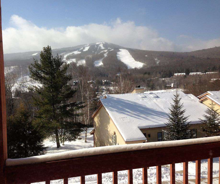 Deck View of the Slopes