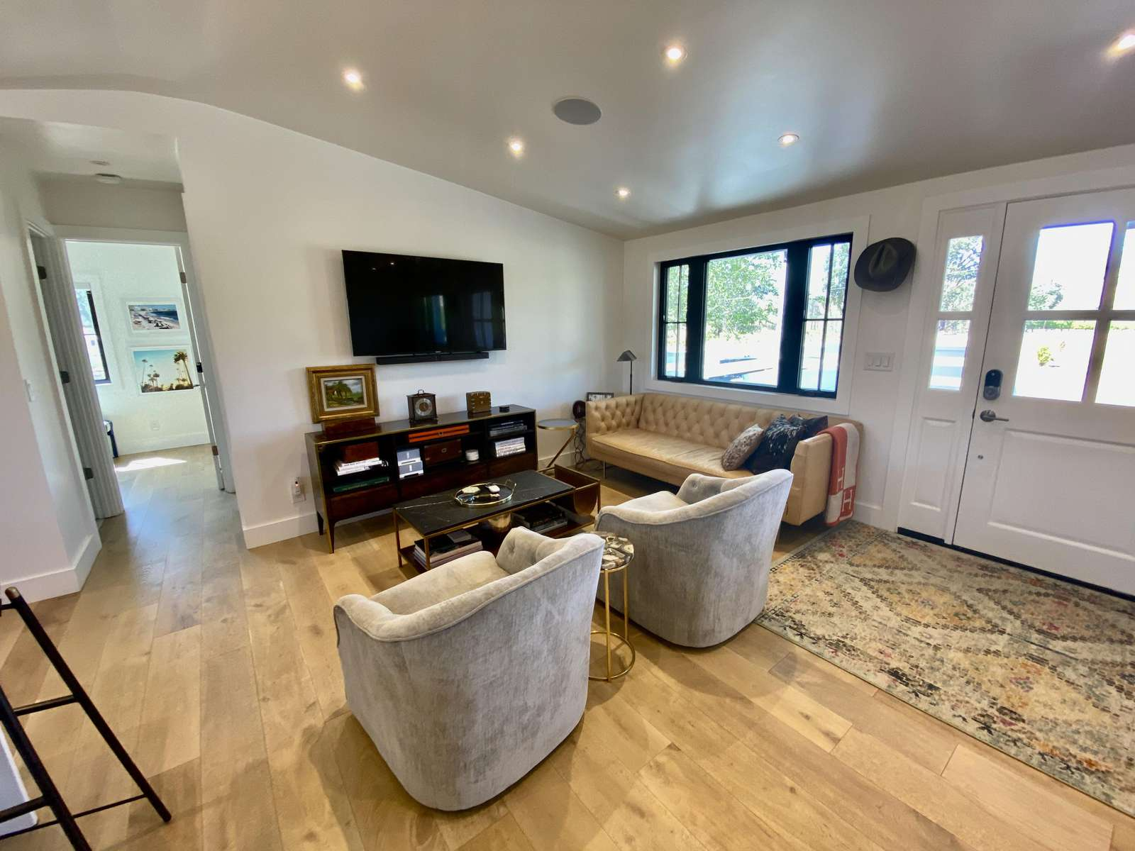 TV area of main living space