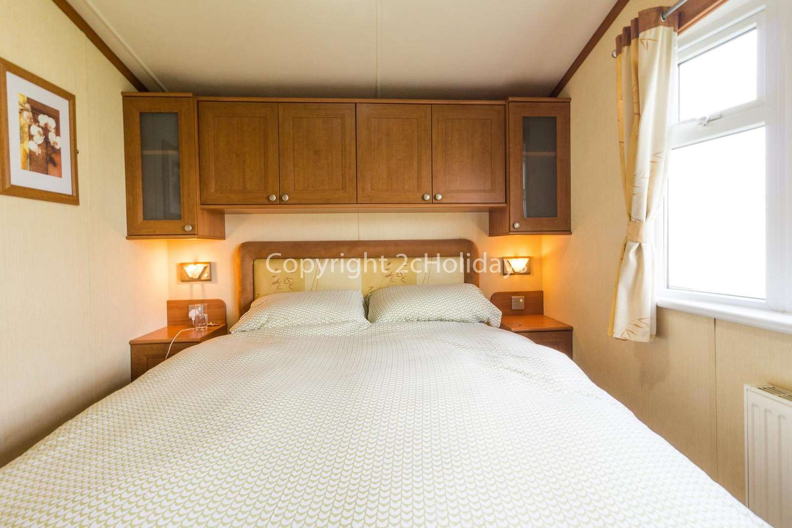 A beautiful master bedroom with an en-suite!