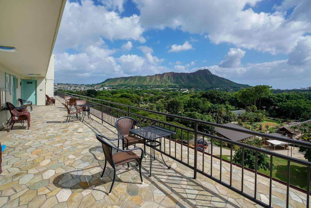 Diamond Head from Communal Roof Top Deck