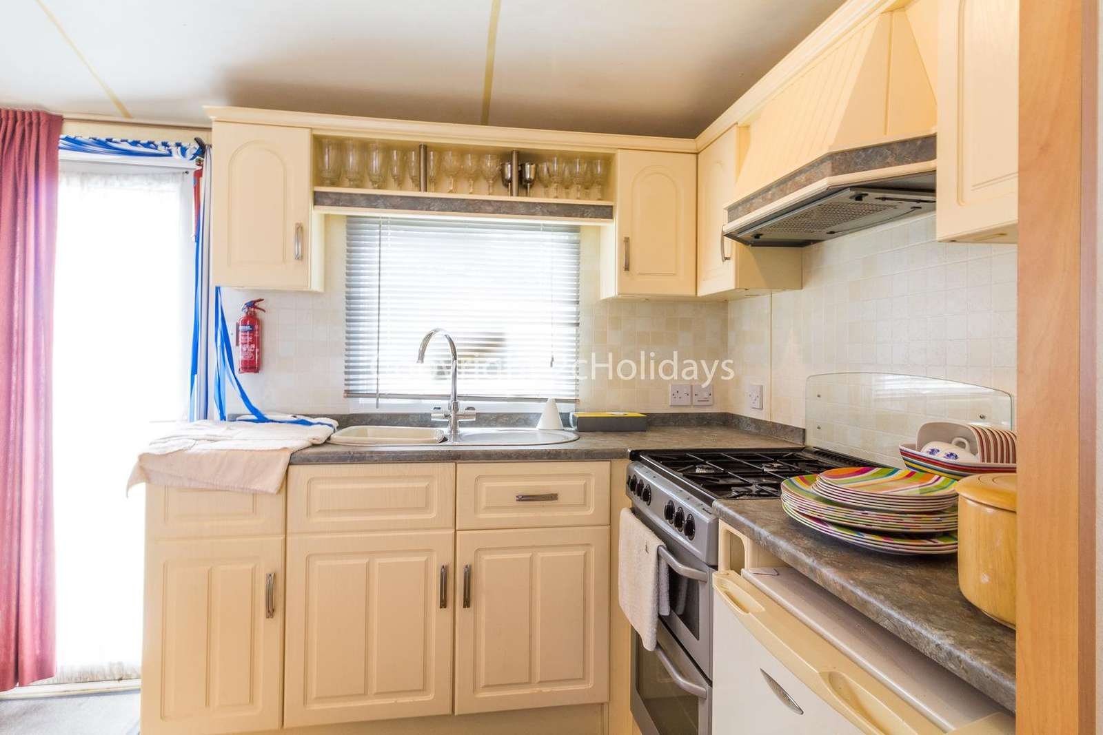 Great size full equipped kitchen, perfect for self-catering holidays!
