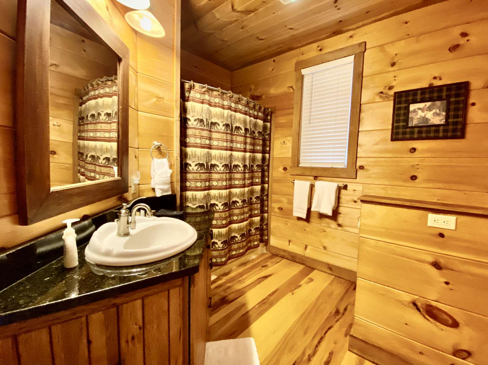 Main Level Bathroom, Tub/Shower Combo