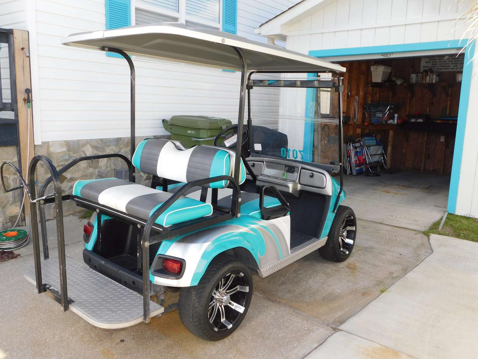 Golf Cart Provided Must be 21 to operate