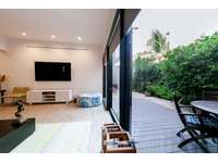 Private terrace with seating area & gardens thumb