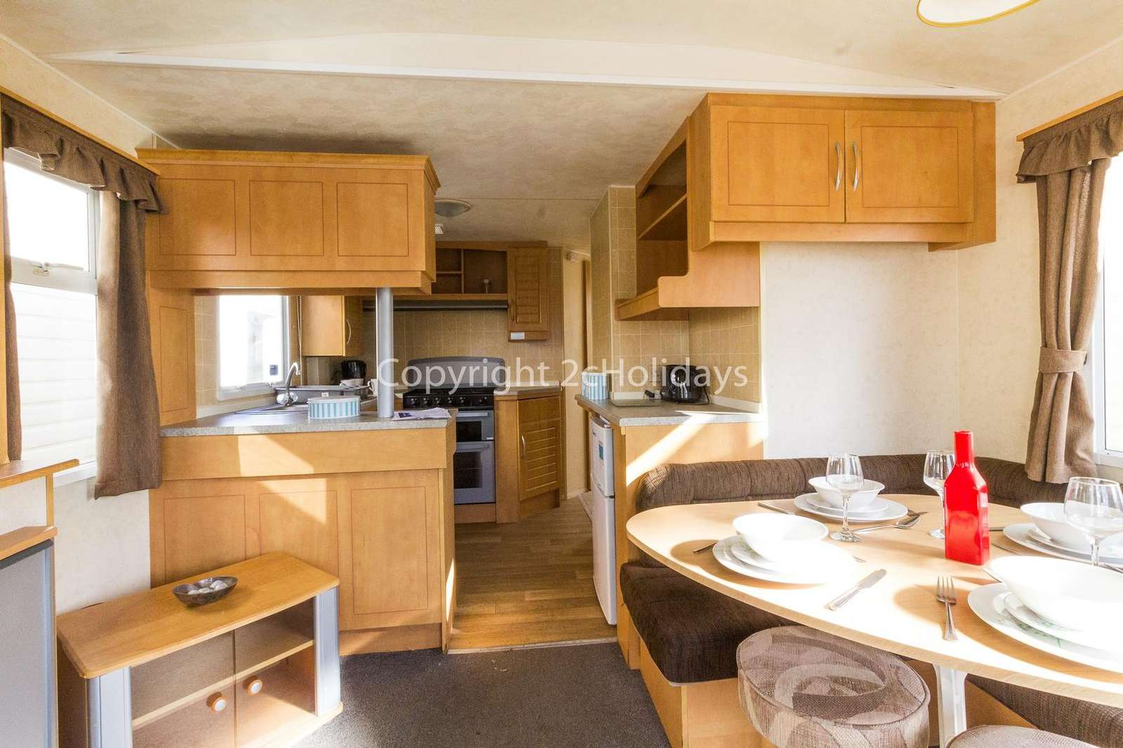 Open plan kitchen/dinner, ideal for families!