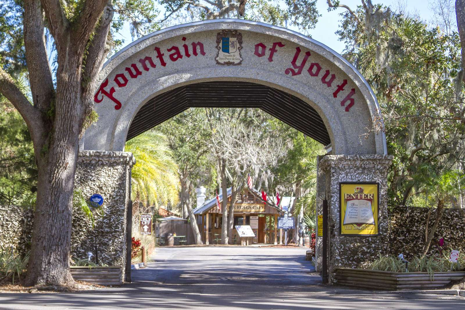 The Fountain of Youth St. Augustine