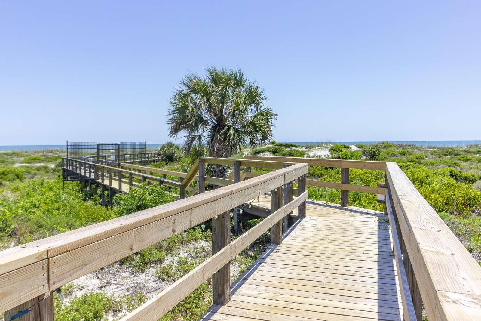 Colony Reef Beach Boardwalk