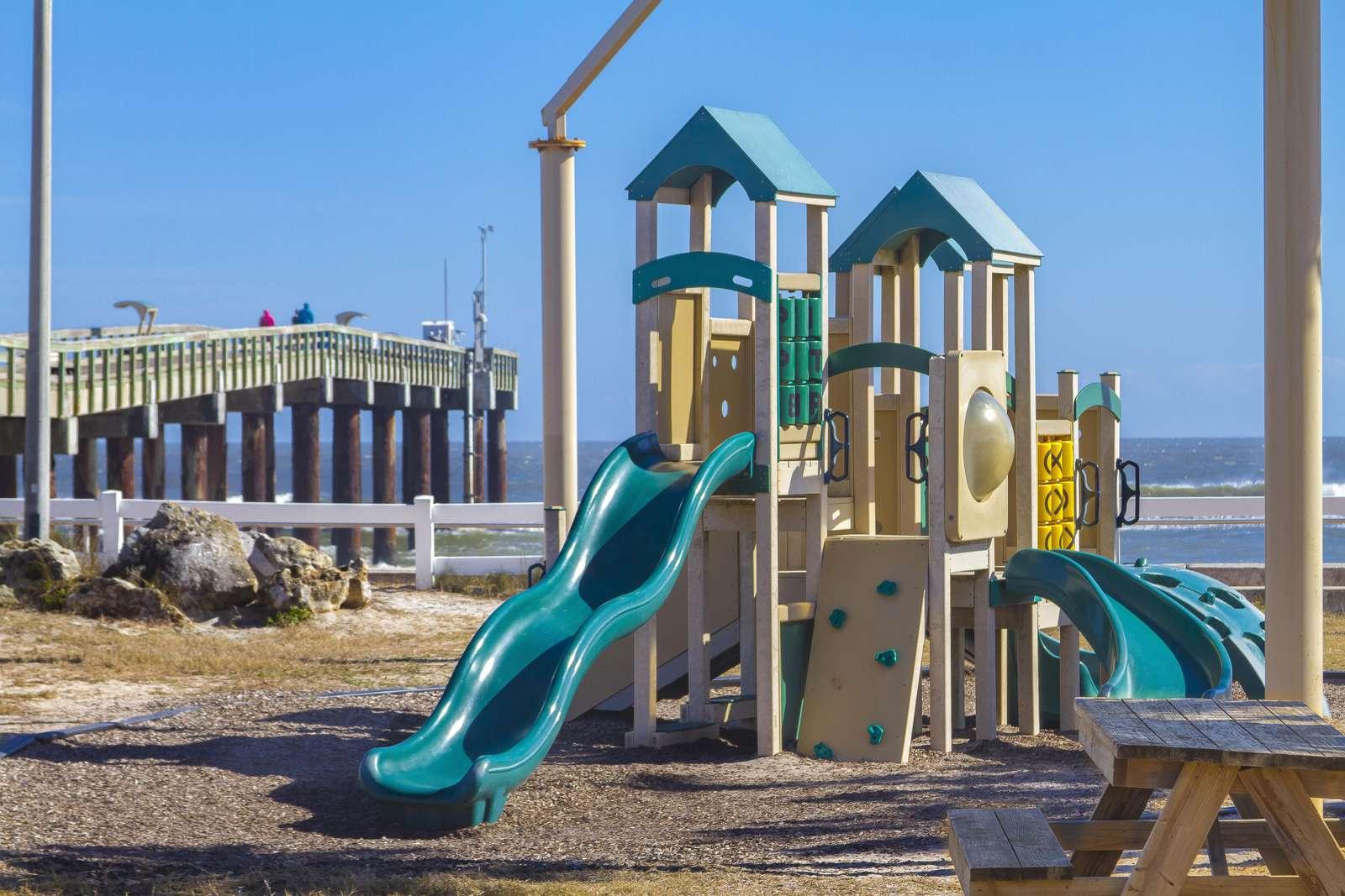 St. Augustine Beach Pier Playground