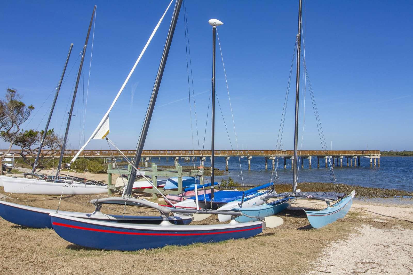 Boats at St. Augustine Salt Run
