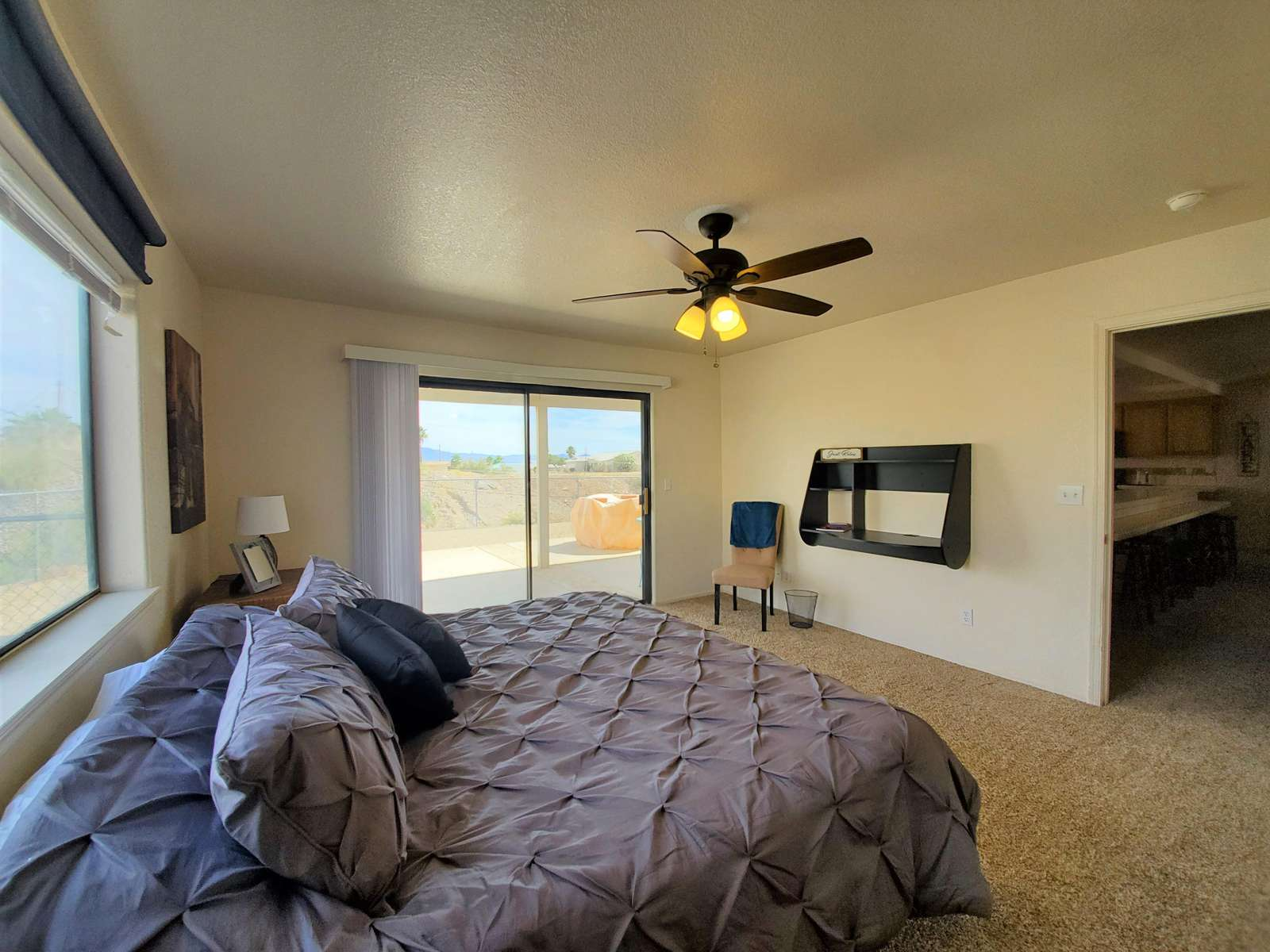 Master#1-King with Mountain Views/Patio Access
