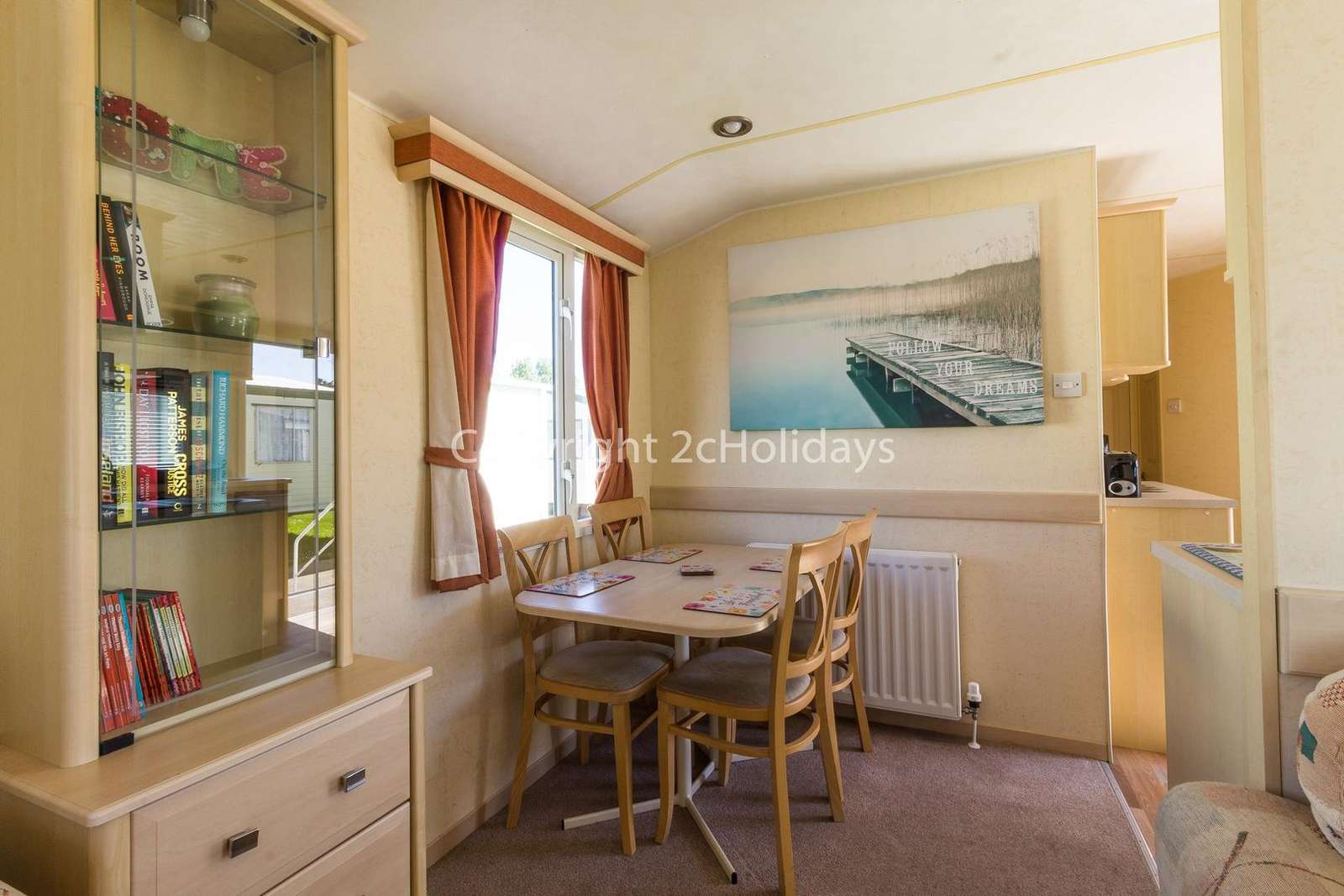 Great place to dine with your families or friends in this self-catering accommodation