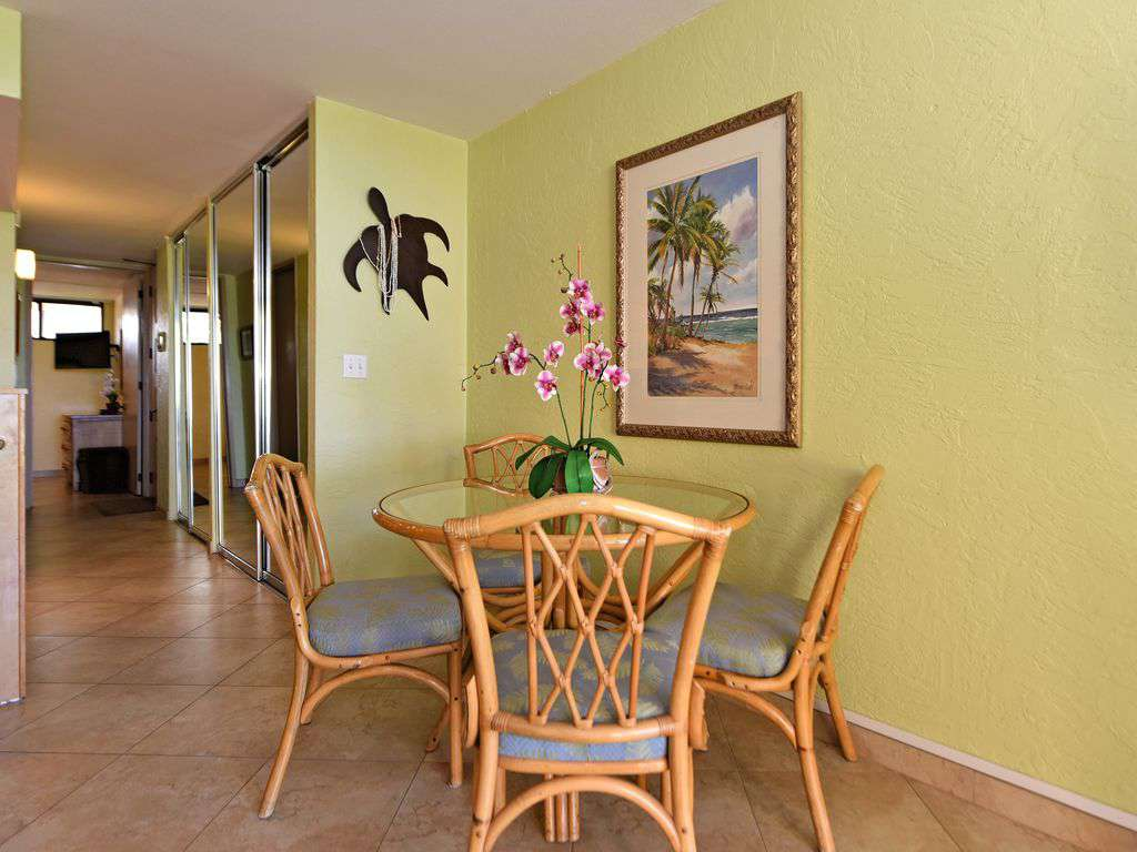 Dining Area - Lanai Is Also Equipped w/a Table