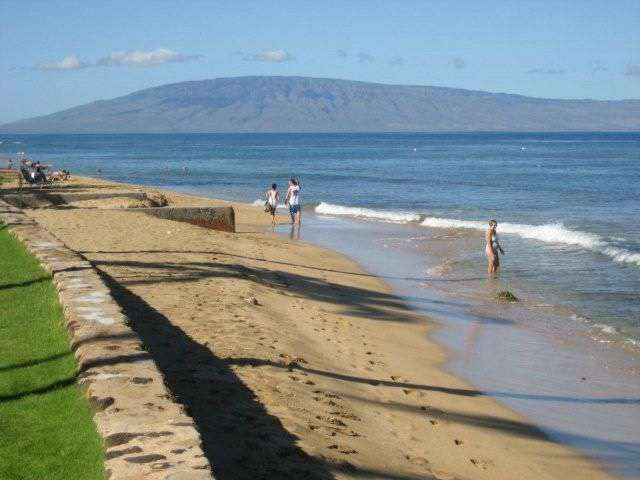 beach in front of Papakea