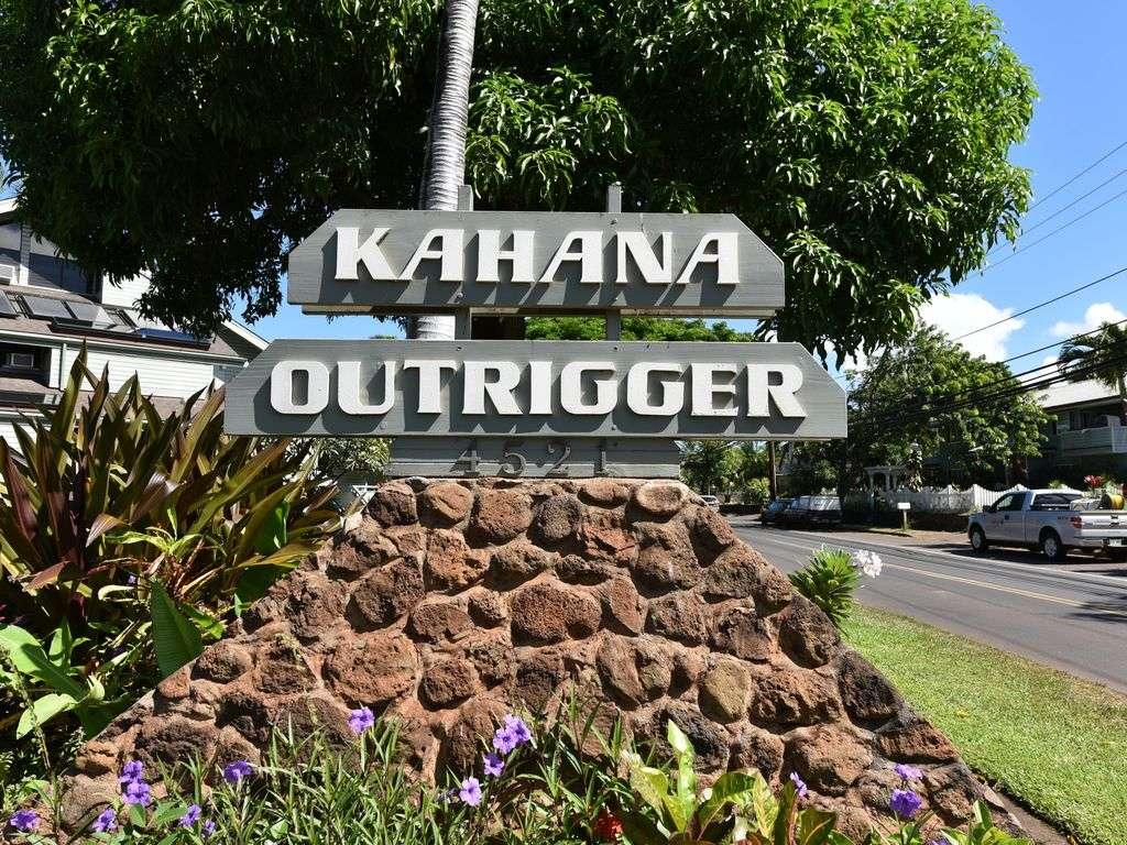 Welcome to Kahana Outrigger!