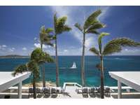 Waterfront views of the Caribbean Sea and surrounding islands thumb