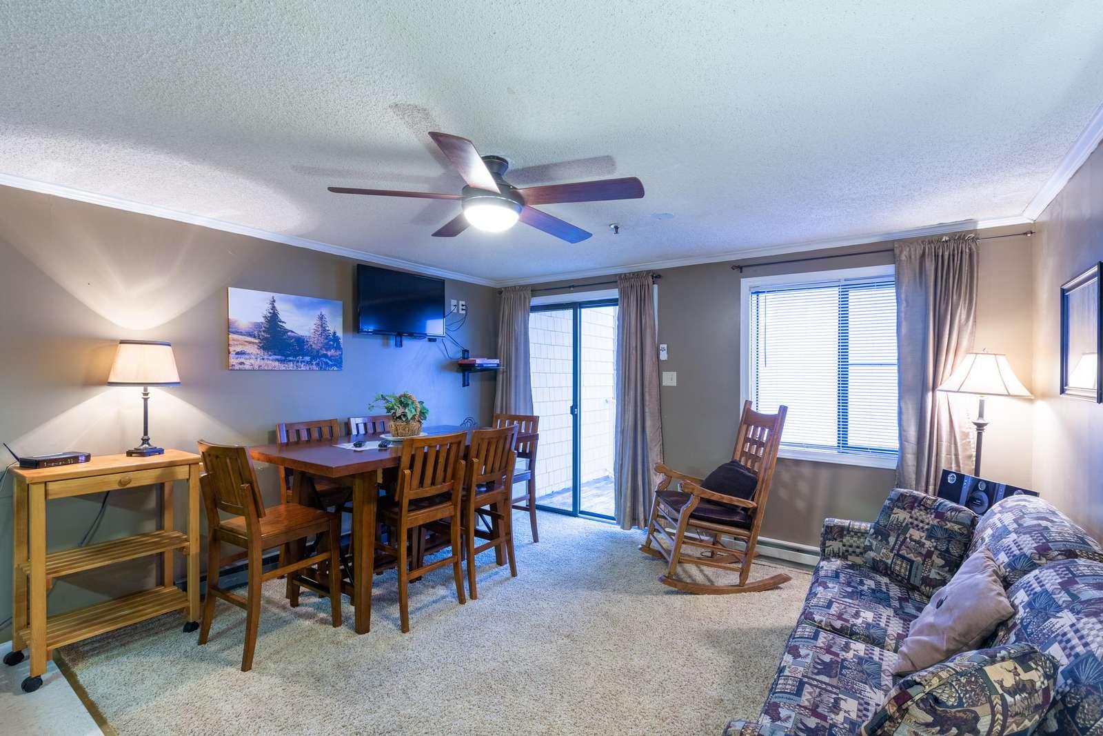 Elegant corner of living area