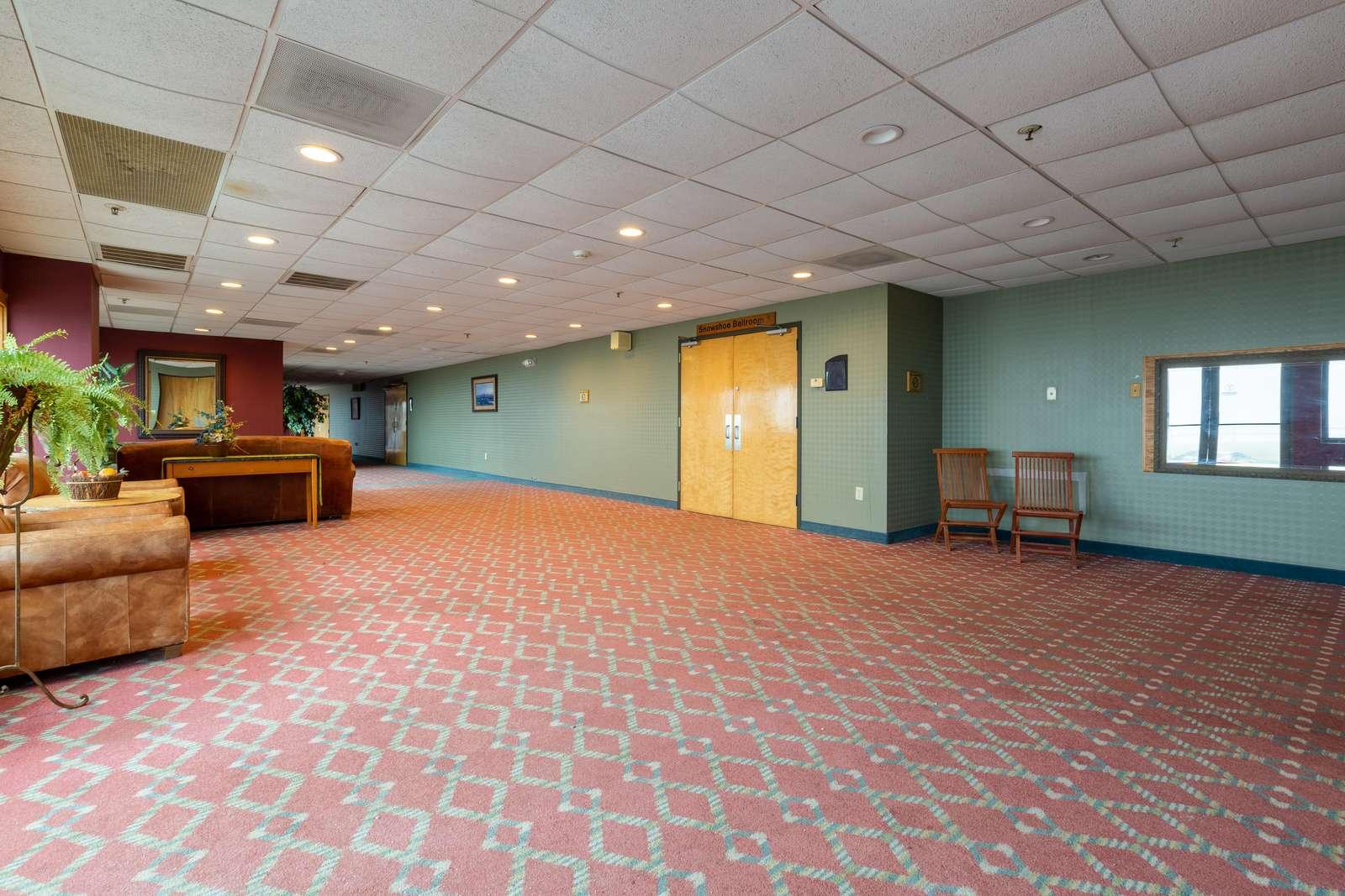 Entry to Lobby Hall