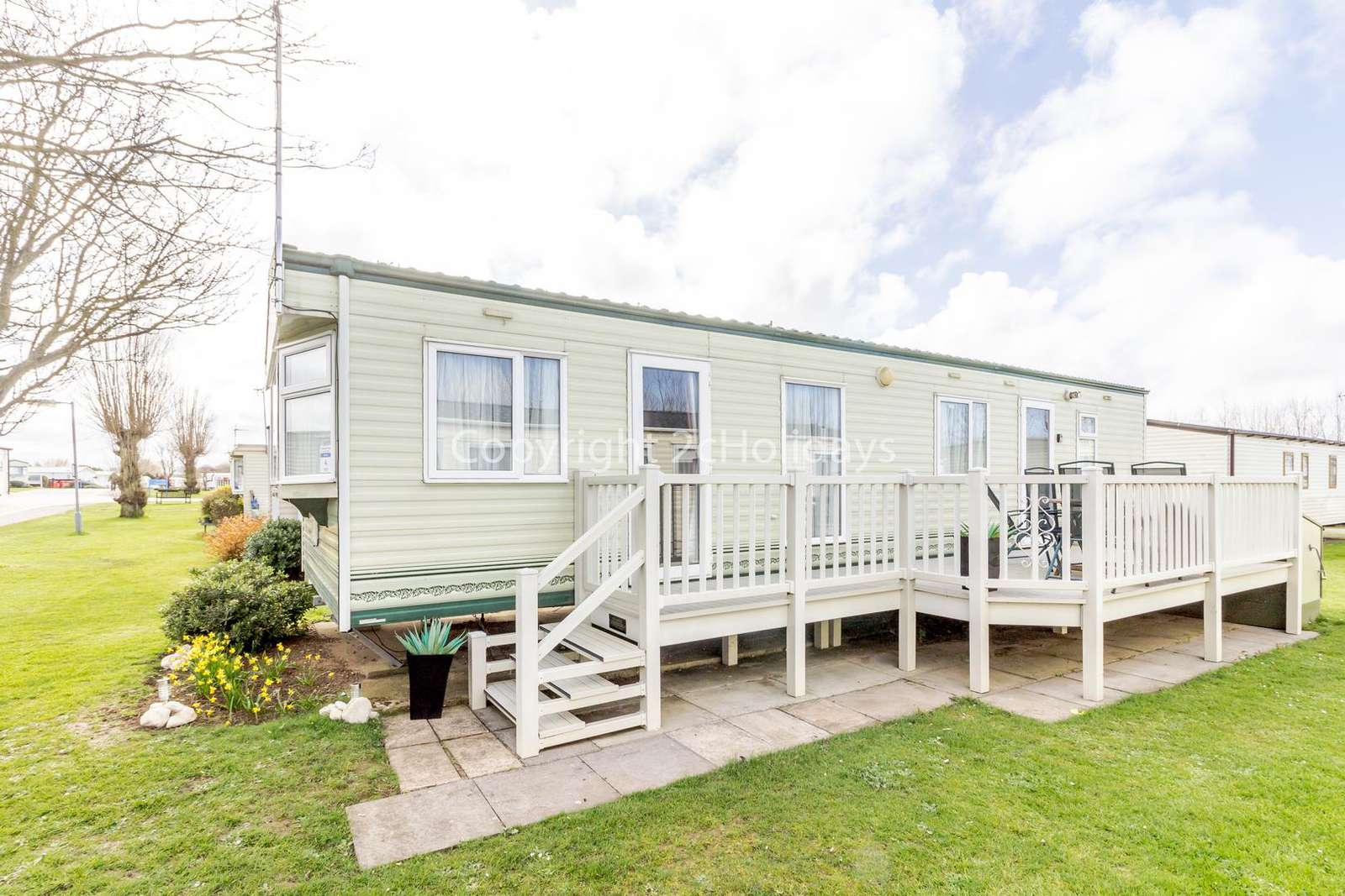Great caravan on a brilliant family park near Hunstanton!
