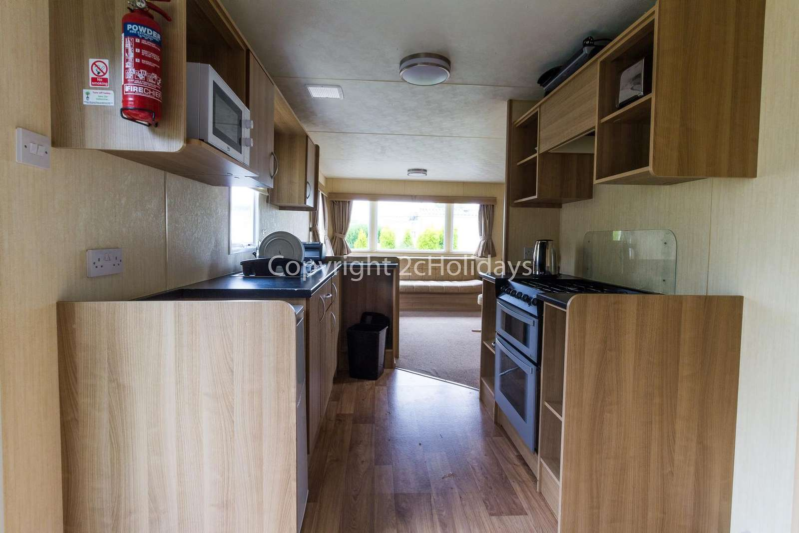 Full size oven/hob in this accommodation!