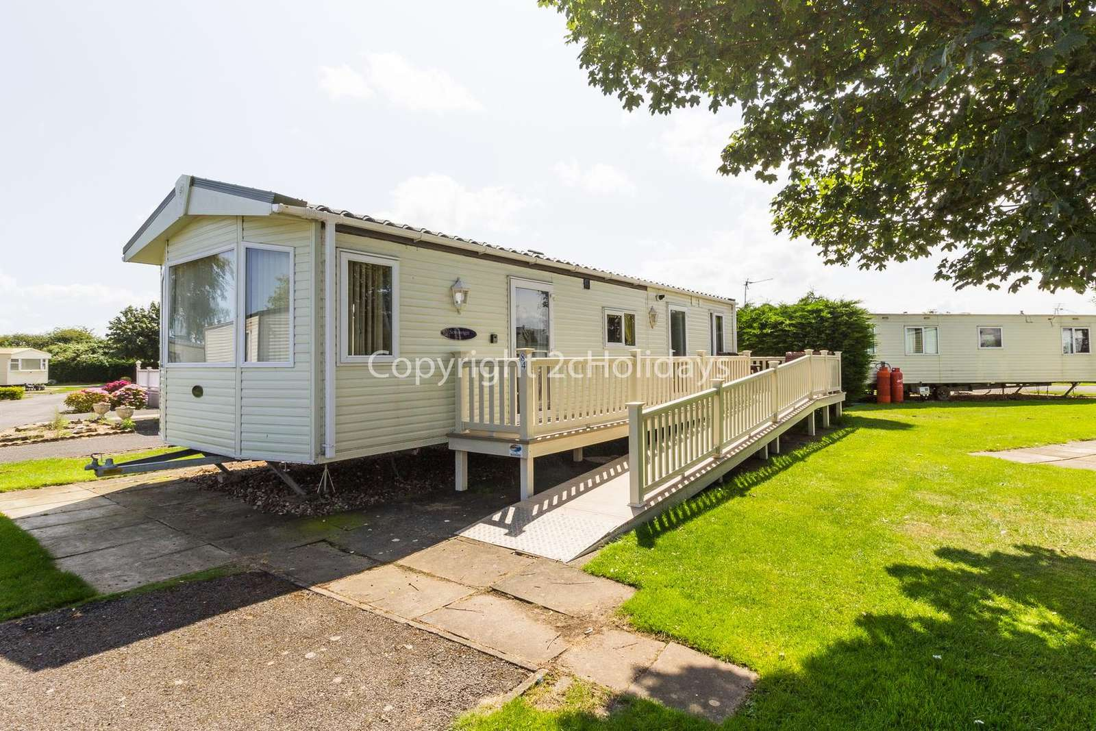 Sited on a lovely family park with great amenities.