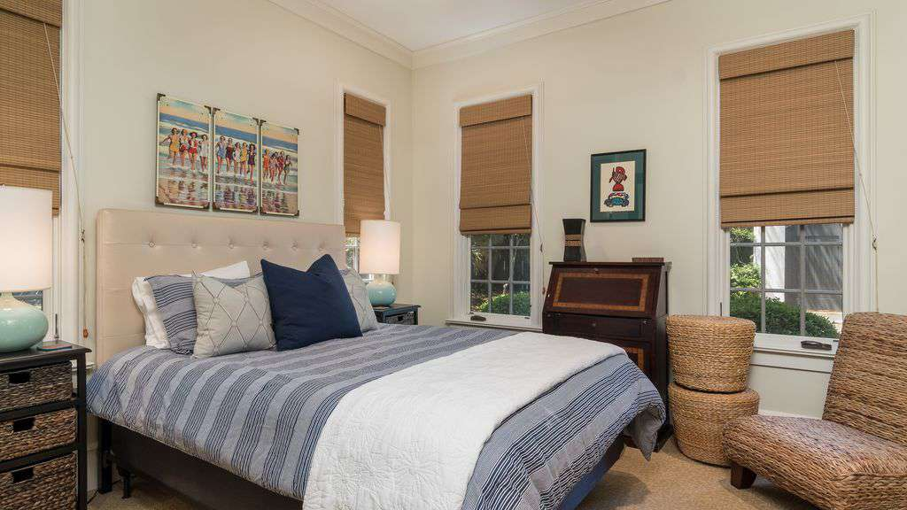 1st Floor Bedroom Features Queen Bed