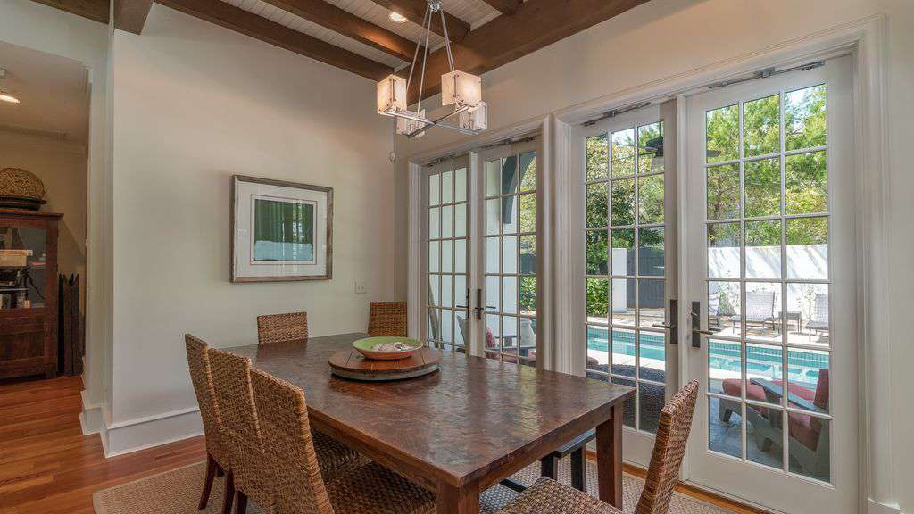 Dining Area Seats 10 - Featuring Exposed Beams