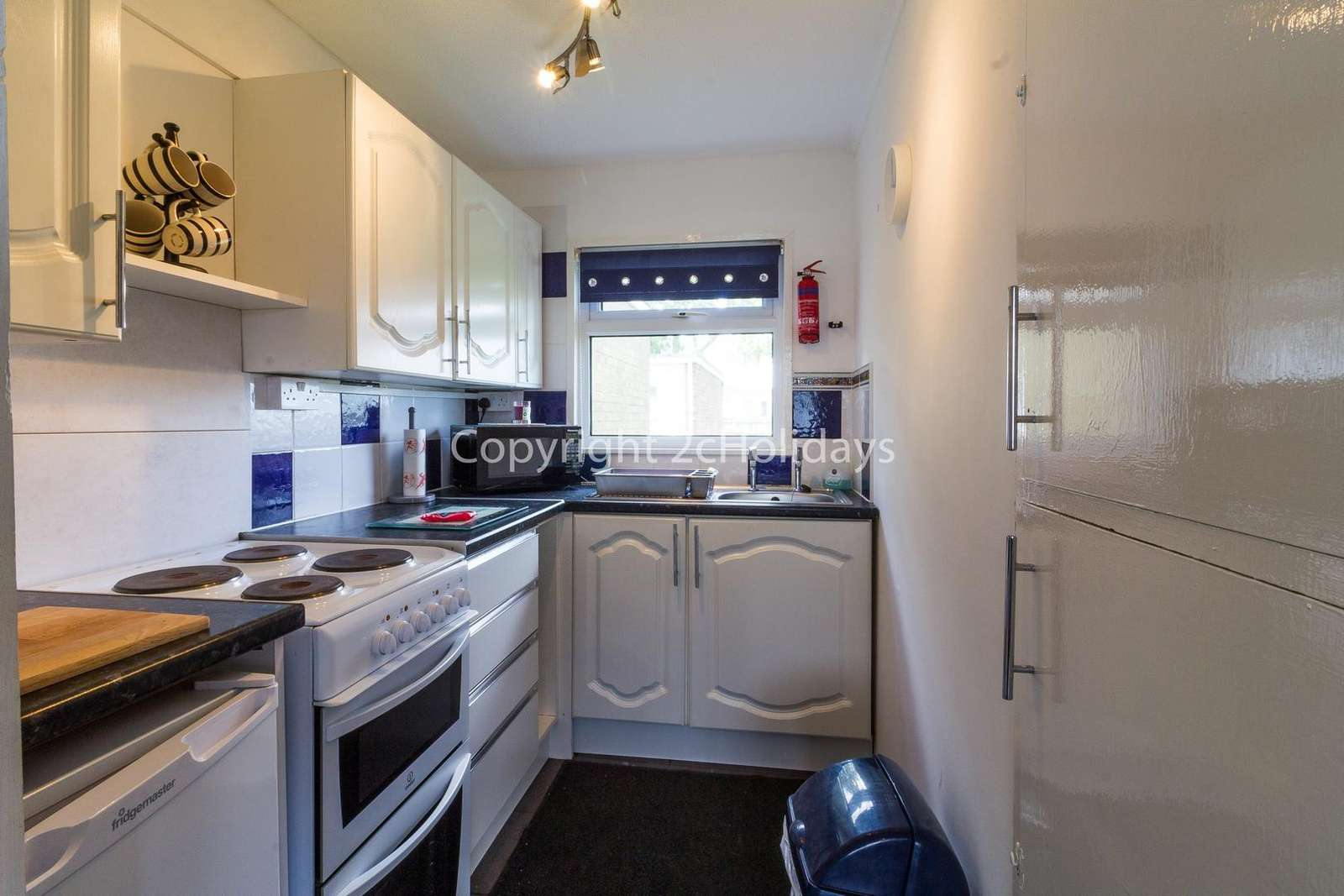 A well equipped kitchen, perfect for self-catering holidays