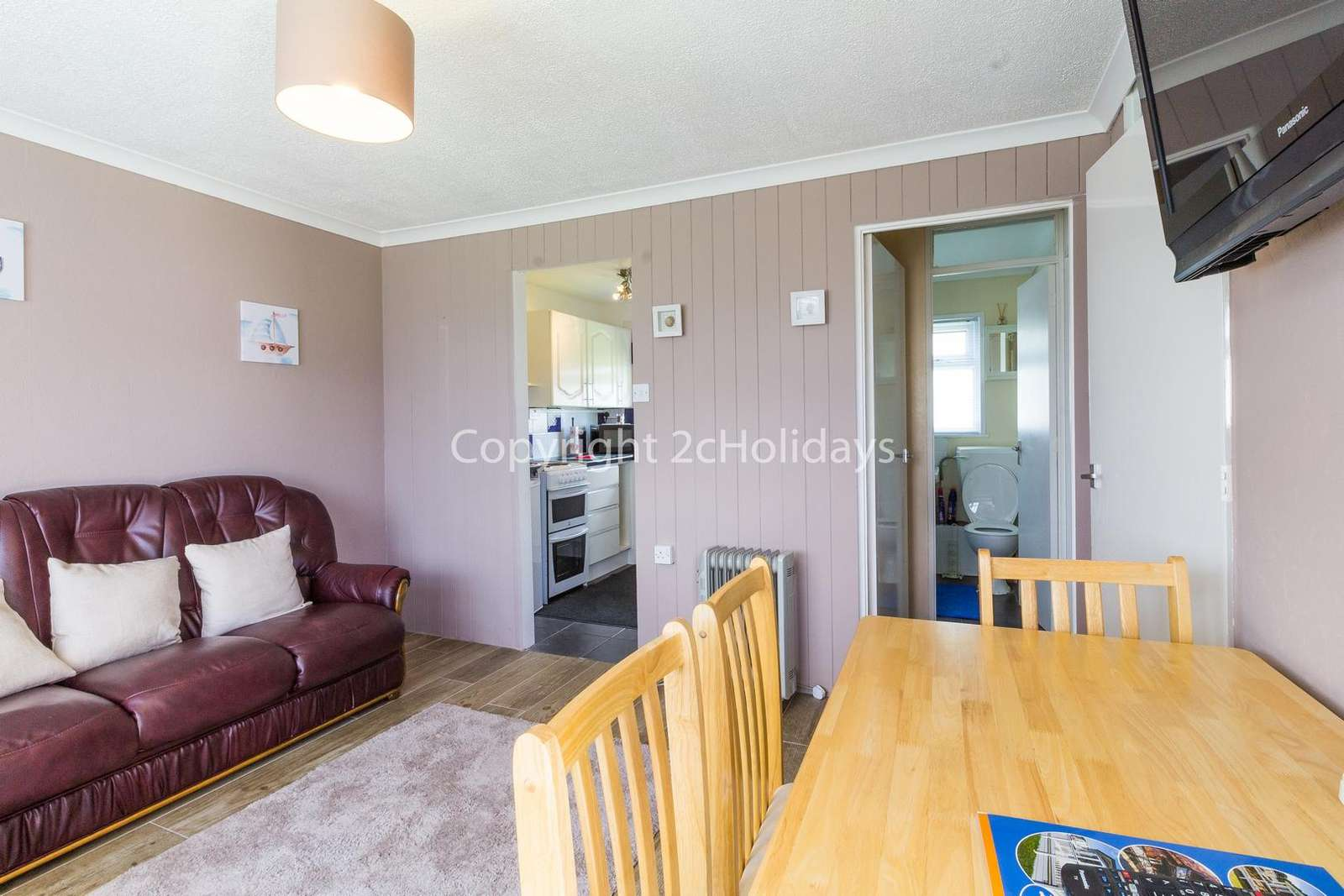 Ideal place to dine with your family or friends in this self-catering accommodation