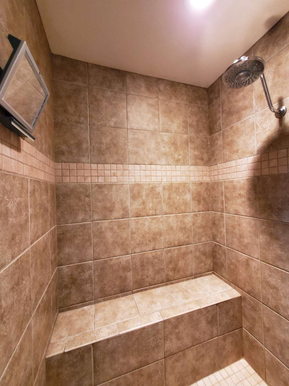 Tiled Walk-In Shower